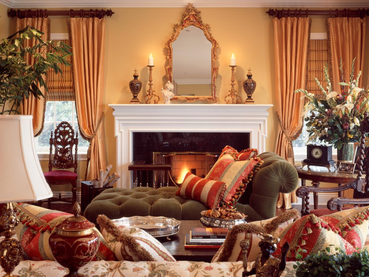 Image of: French Country Living Room Ideas Awesome