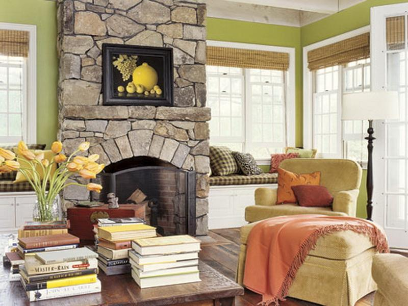 Image of: French Country Living Room Ideas Colorful