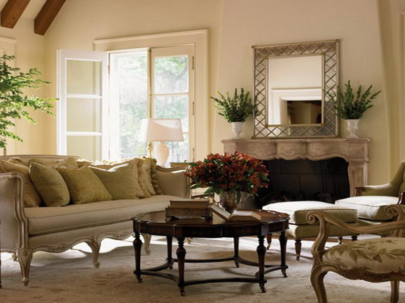 Image of: French Country Living Room Ideas Decor