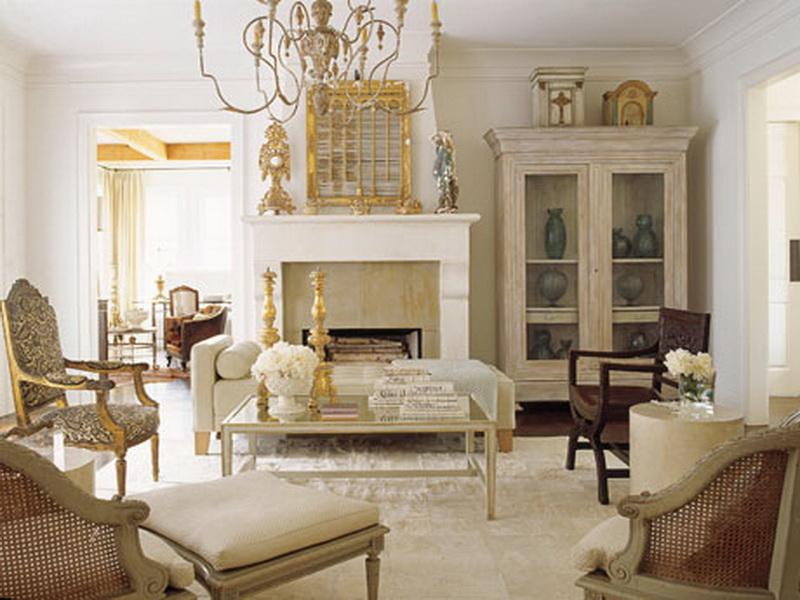 Image of: French Country Living Room Ideas Furniture