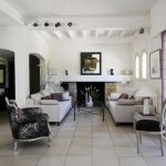French Country Living Room Ideas White