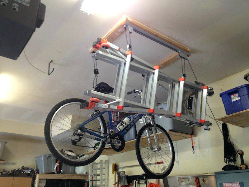 Image of: Garage Bike Storage Ideas