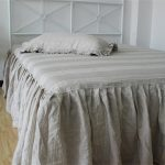 Gray Bed Skirt Idea