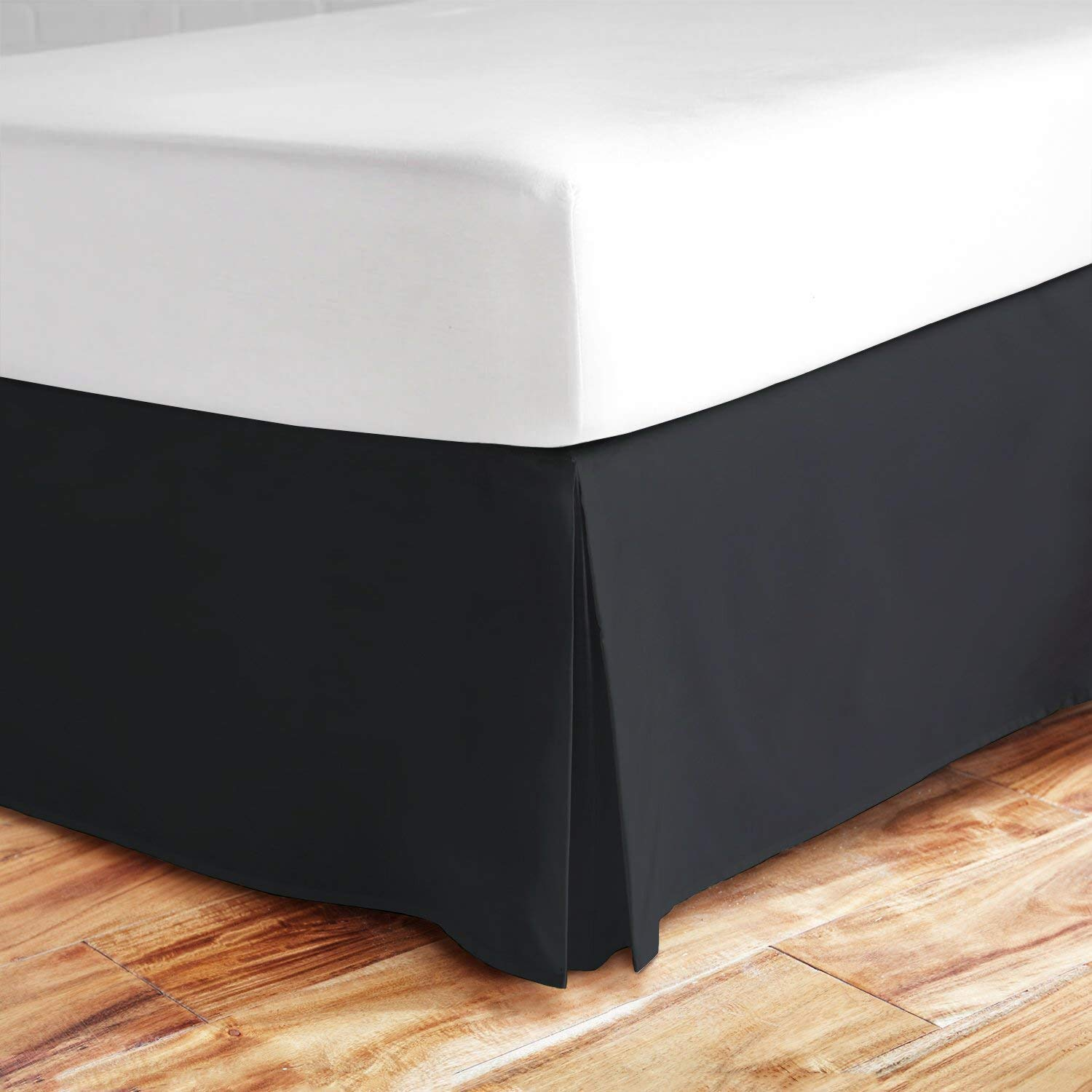 Image of: Gray Bed Skirt Mode
