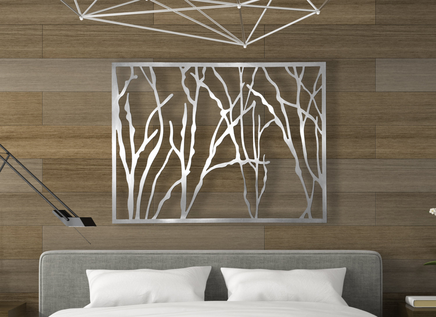 Image of: Great Metal Wall Art Panels