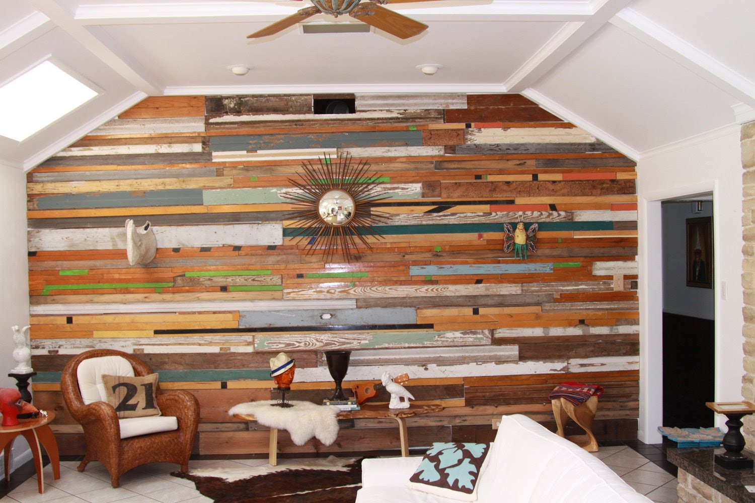 Great Rustic Wood Paneling for Walls