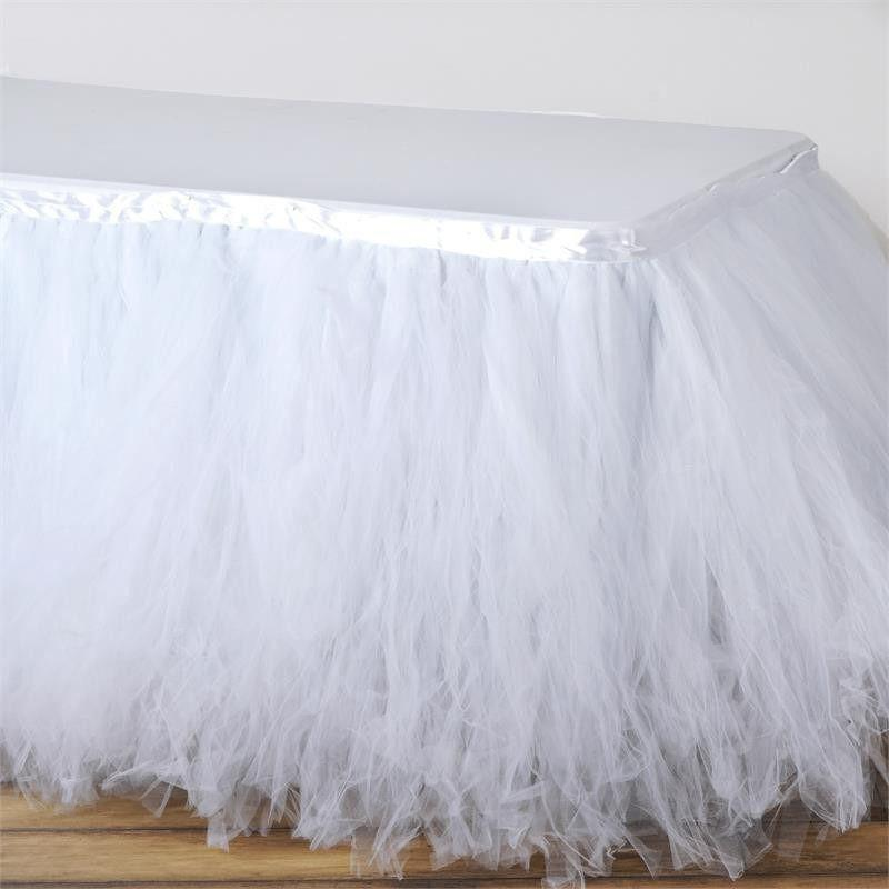 Image of: Great Tulle Bed Skirt