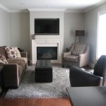 Grey and Brown Living Room Furniture