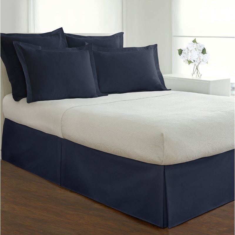 Image of: Gwinner Tailored Bed Skirt