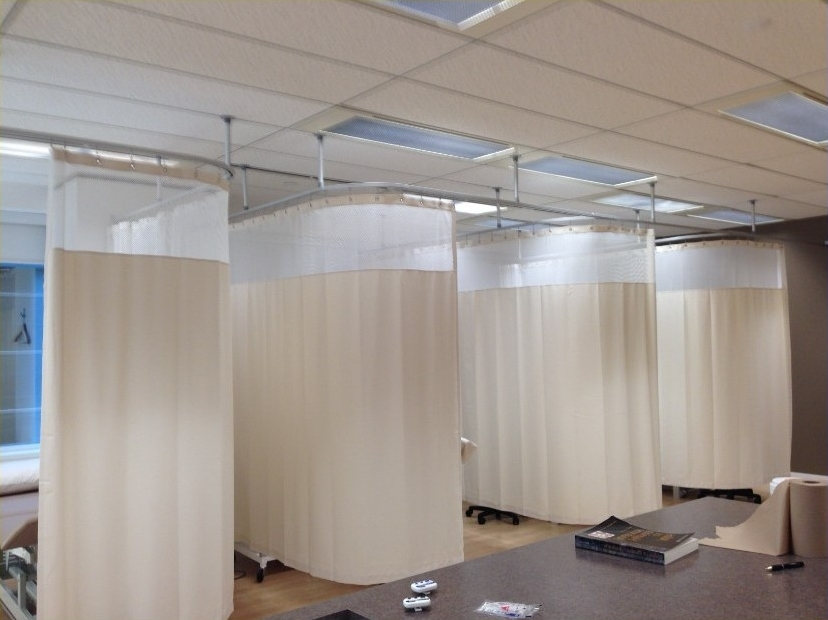 Image of: Hospital Track Curtain Home