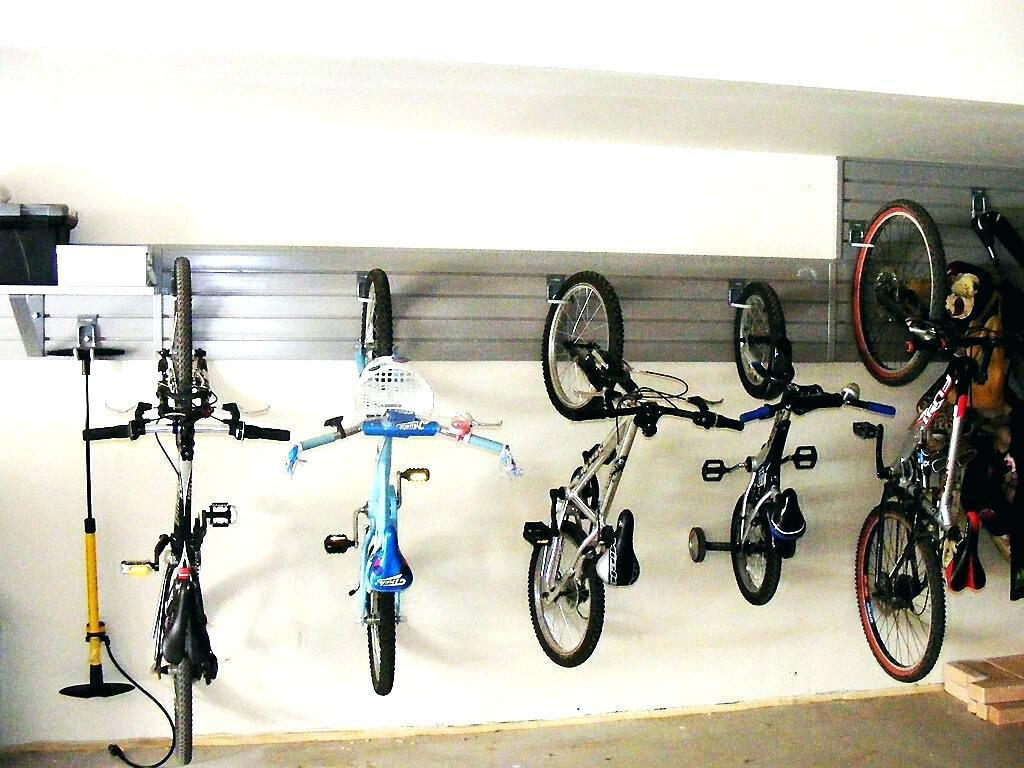 Image of: Indoor Bike Storage Ideas