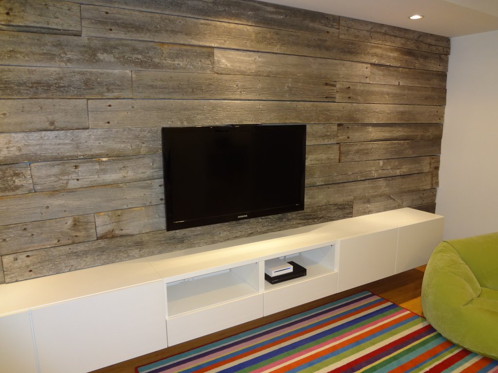 Image of: Interior Reclaimed Wood Wall Panels