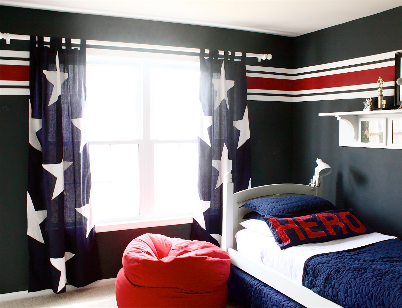 Image of: Kid Bedroom Curtain Hero