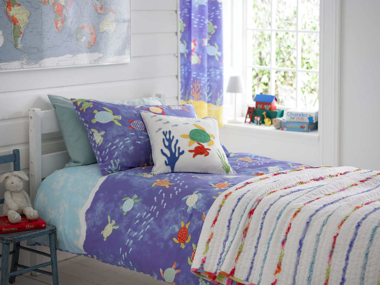 Image of: Kid Bedroom Curtain Sailor