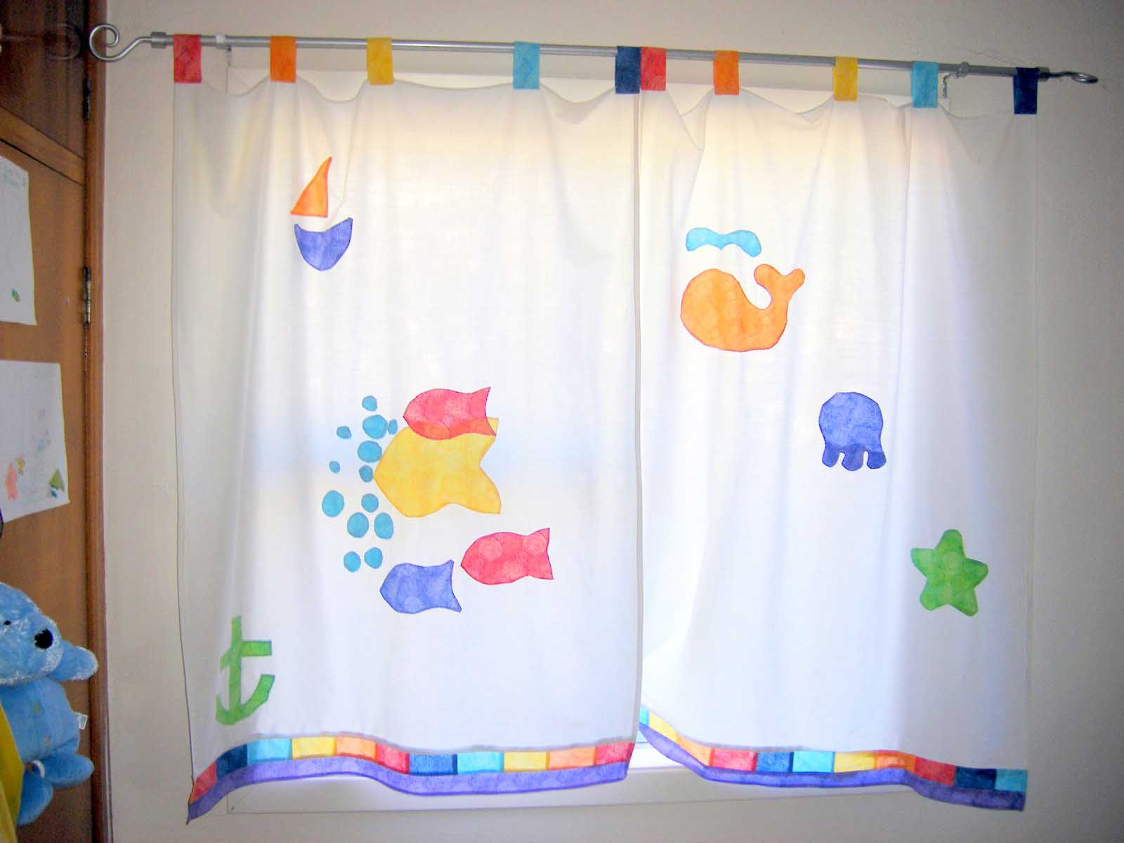 Image of: Kid Bedroom Curtain Unique