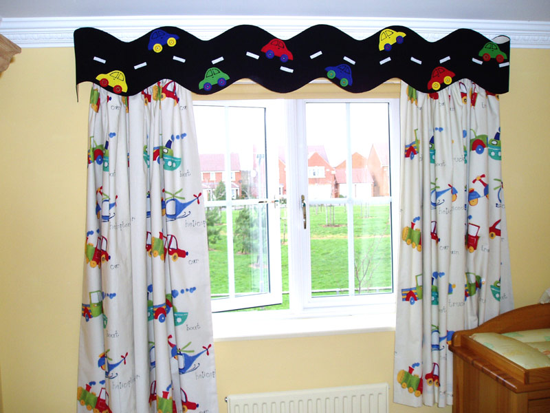 Image of: Kid Bedroom Curtain