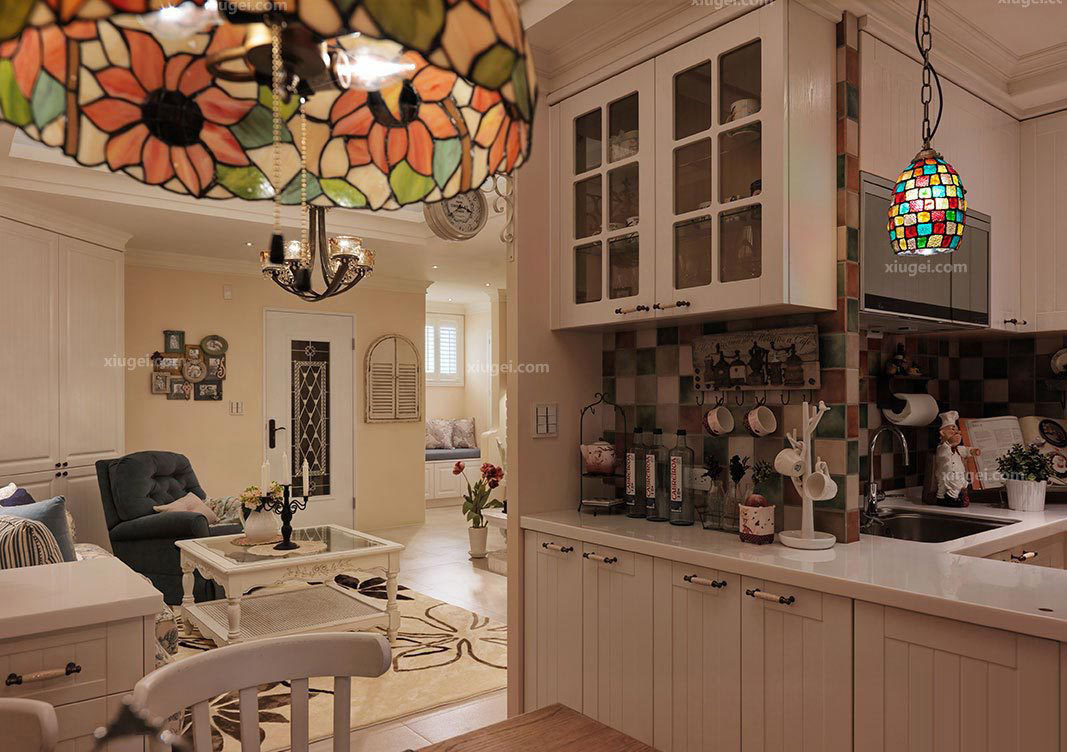 Image of: Kitchen Living Room Combo Awesome