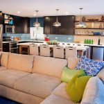 Kitchen Living Room Combo Contemporary
