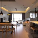Kitchen Living Room Combo Simple