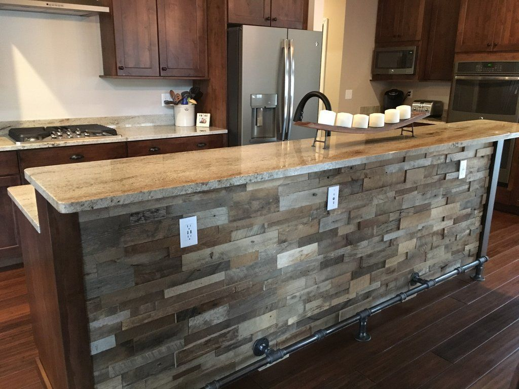 Image of: Kitchen Reclaimed Wood Wall Panels