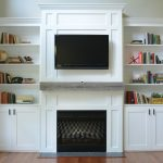 Living Room Built Ins Simple