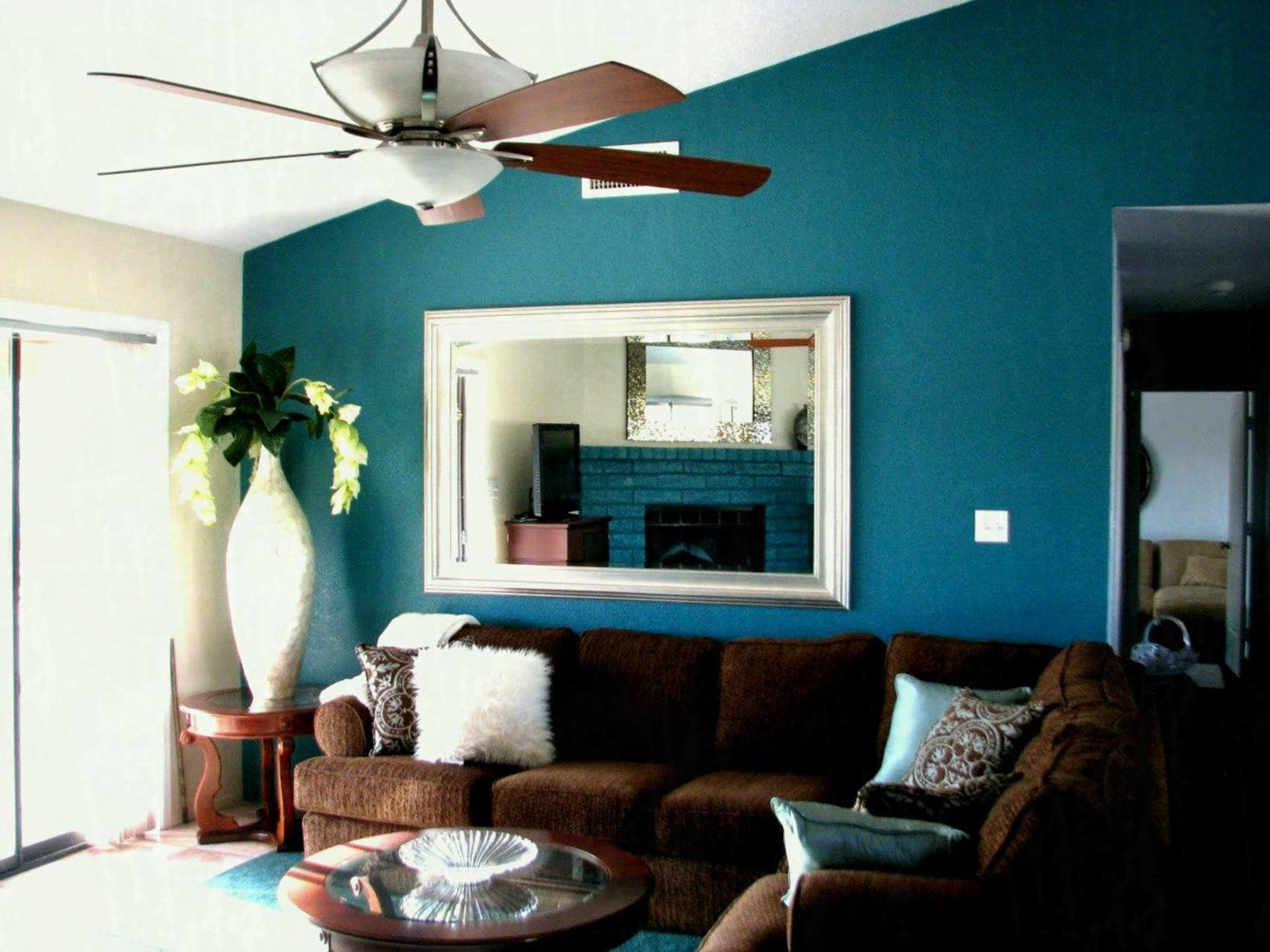 Image of: Living Room Colors 2018 Blue