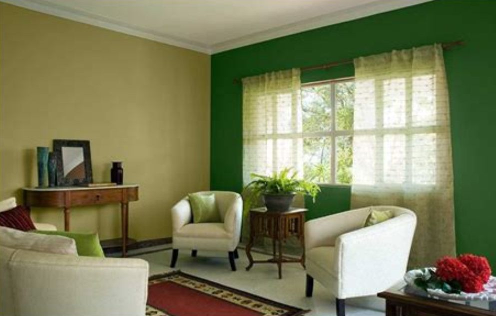 Image of: Living Room Colors 2018 Green