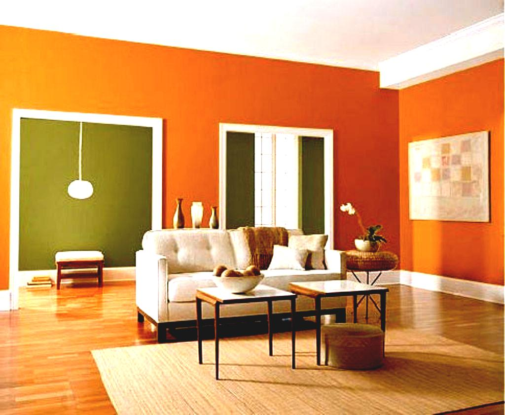 Image of: Living Room Colors 2018 Orange