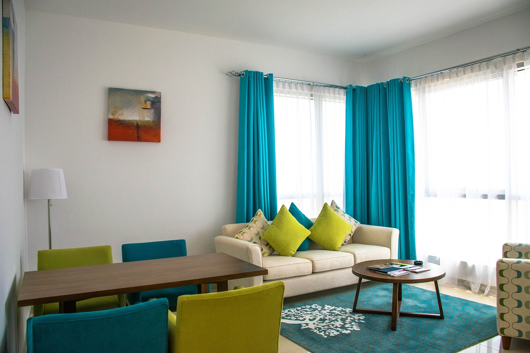 Image of: Living Room Curtains Small
