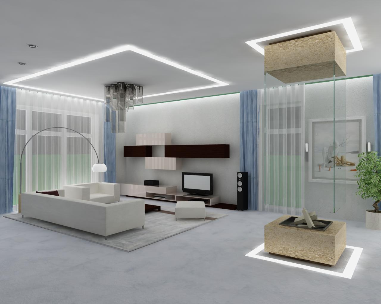 Image of: Living Room Design Simple
