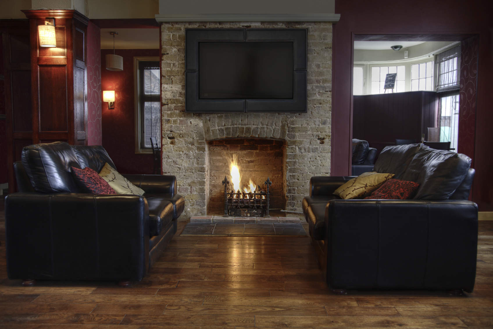 Image of: Living Room Fireplace Awesome
