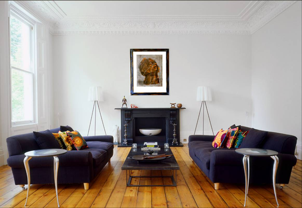 Image of: Living Room Fireplace Simple