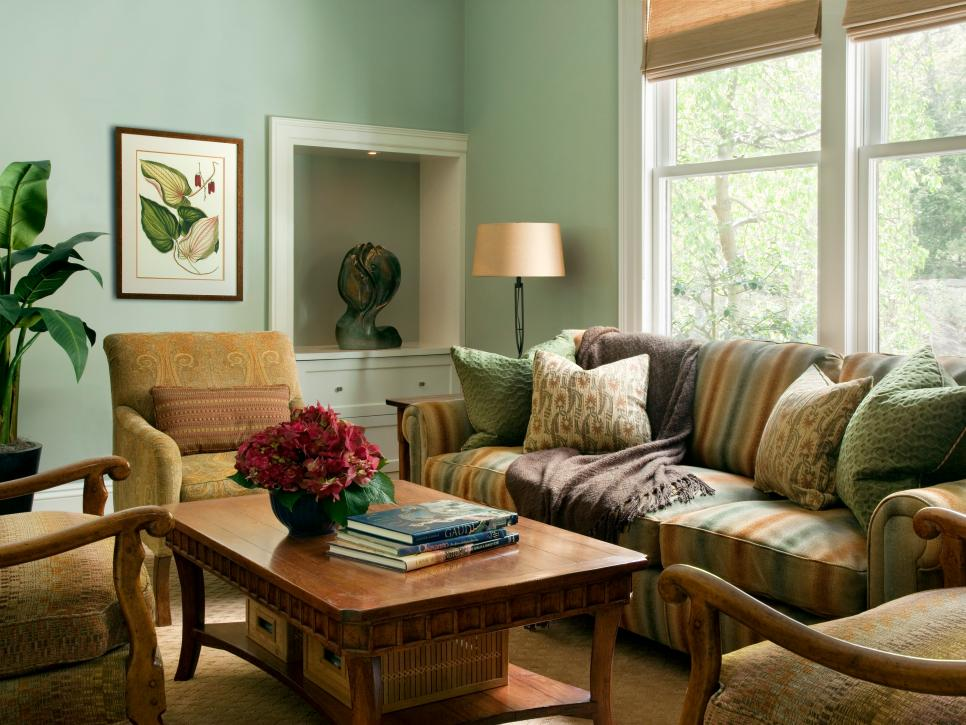 Image of: Living Room Furniture Arrangement Green