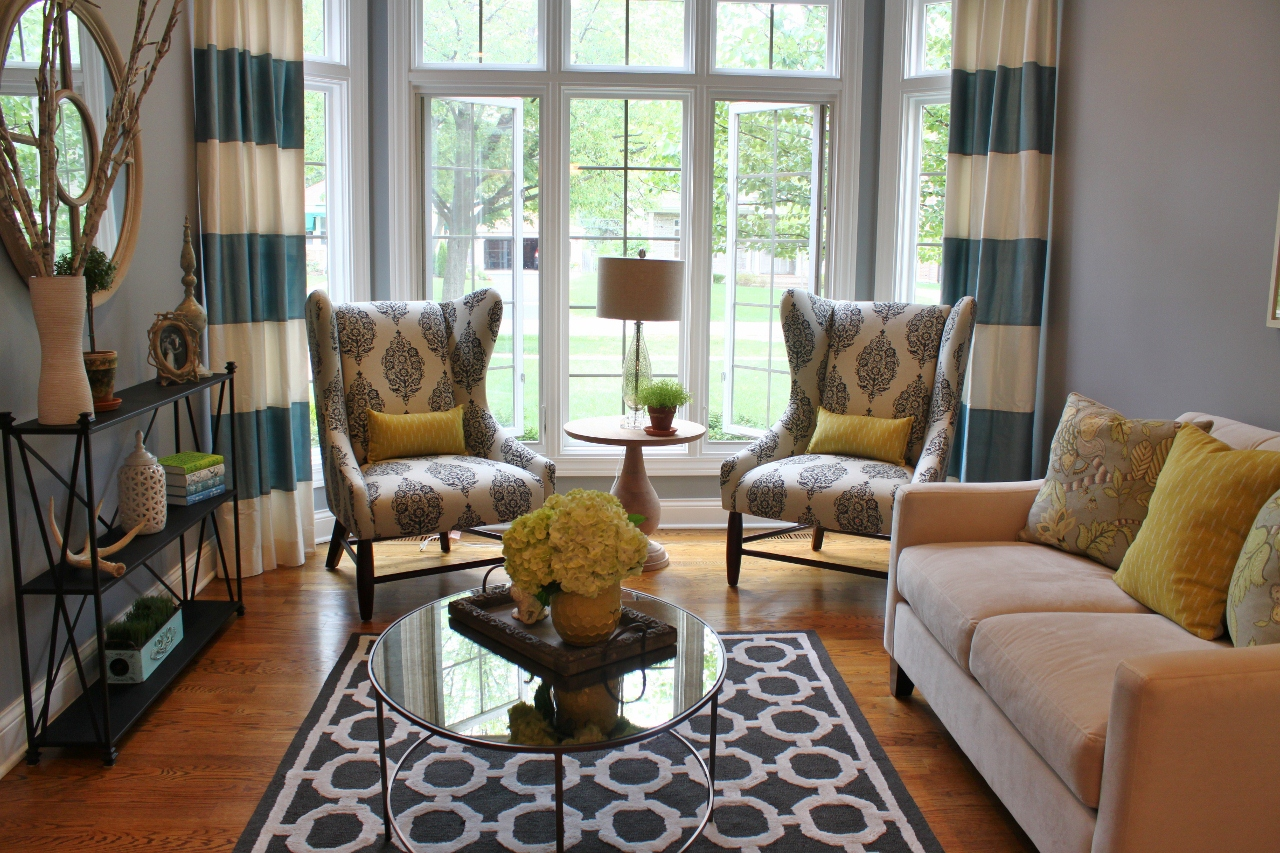 Image of: Living Room Makeovers Elegant