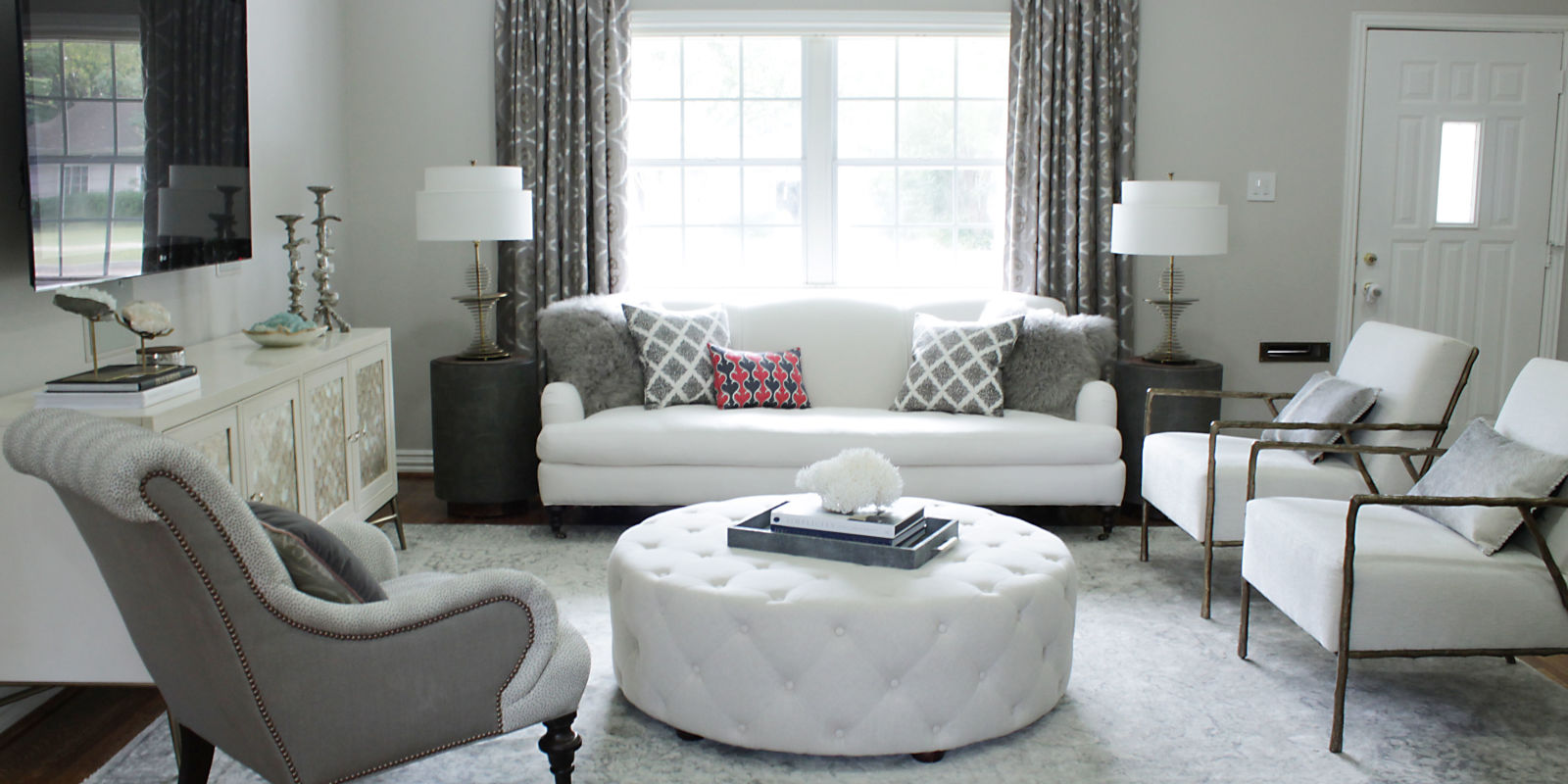 Image of: Living Room Makeovers Landscape