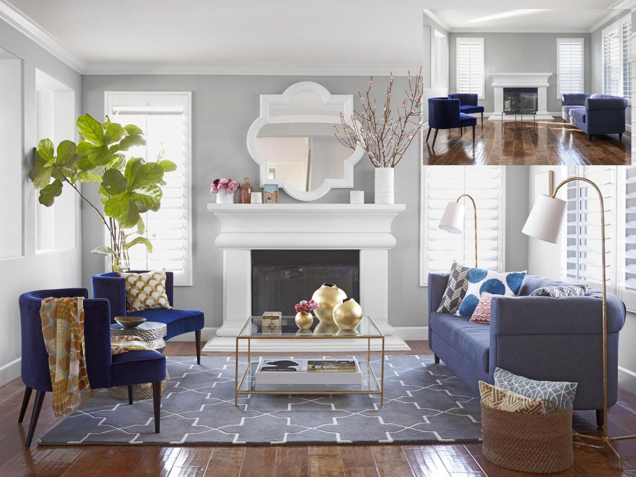 Image of: Living Room Makeovers Style