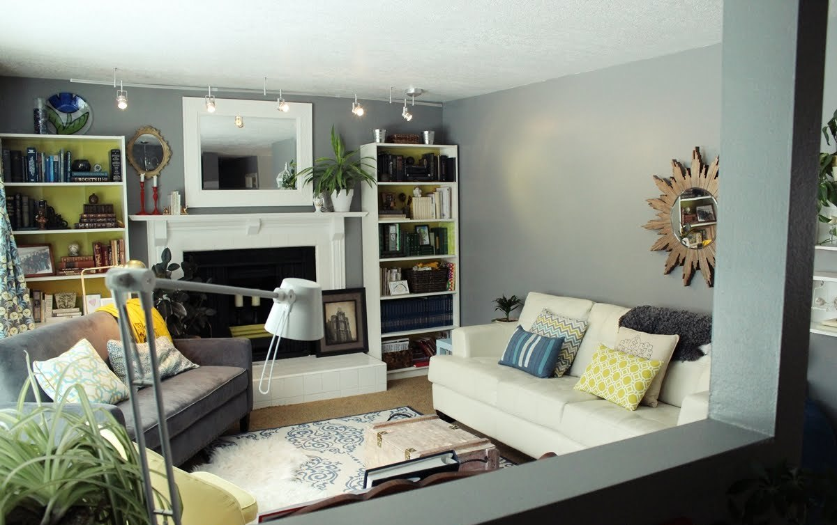 Image of: Living Room Makeovers Unique
