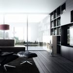 Living Room Modern Black