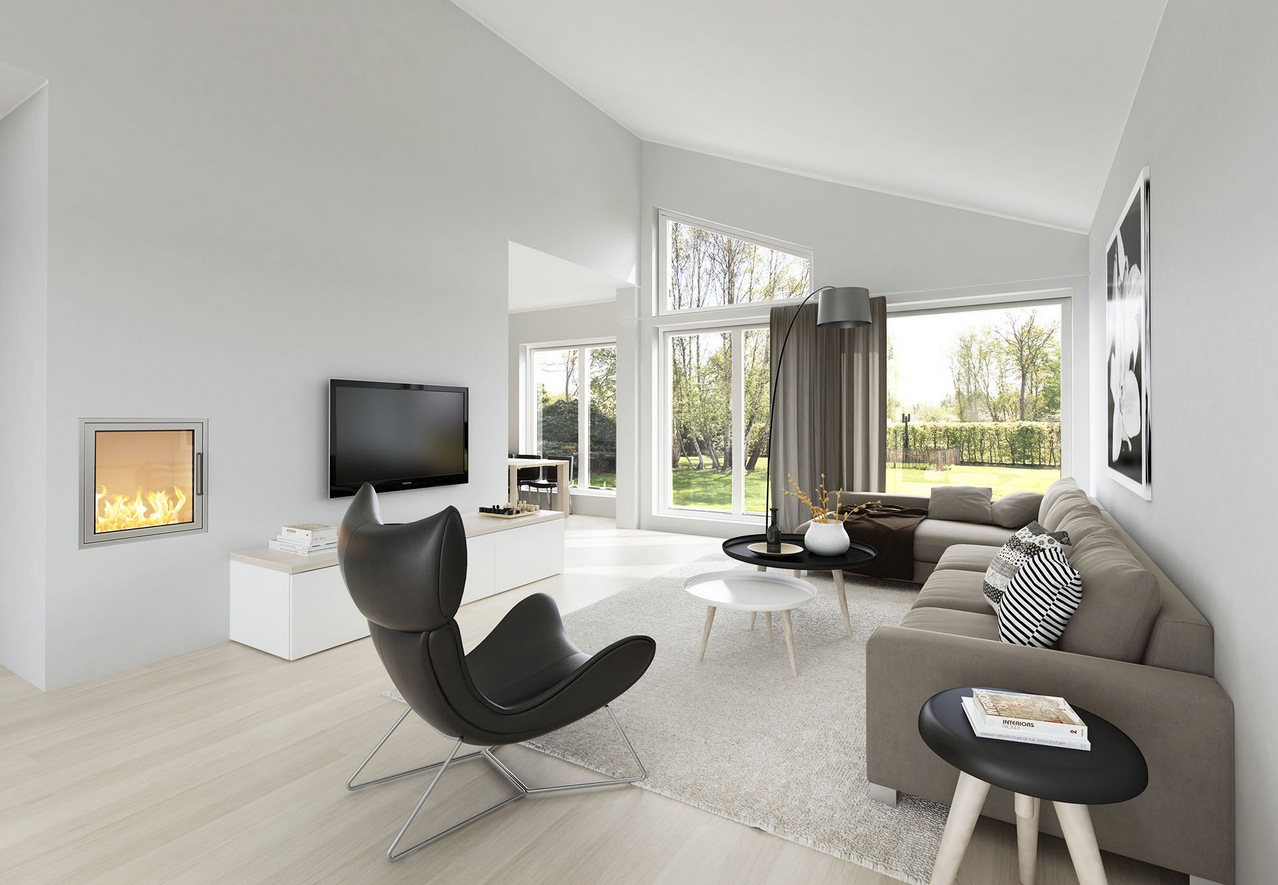 Image of: Living Room Modern Small
