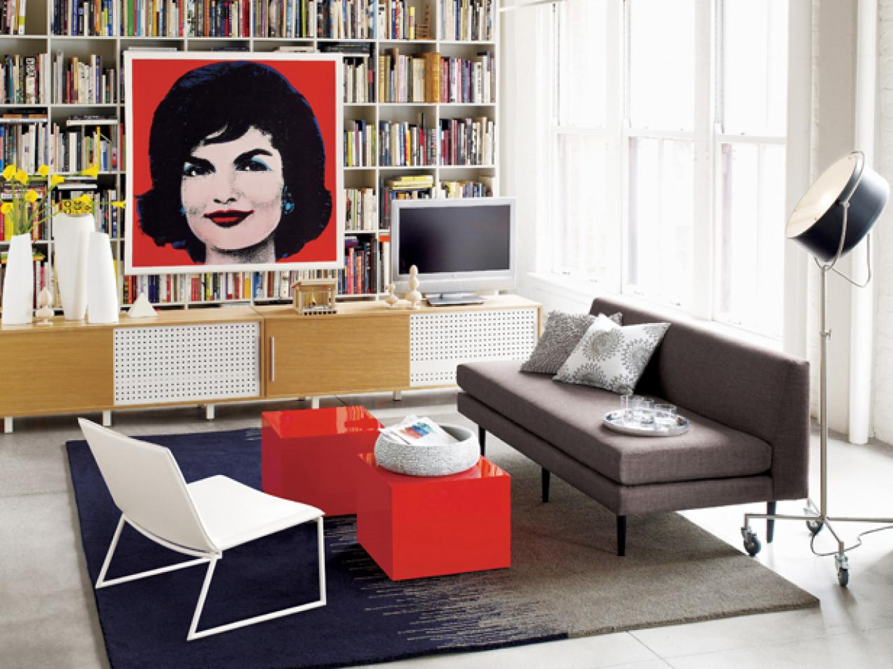 Image of: Living Room Organizing Music