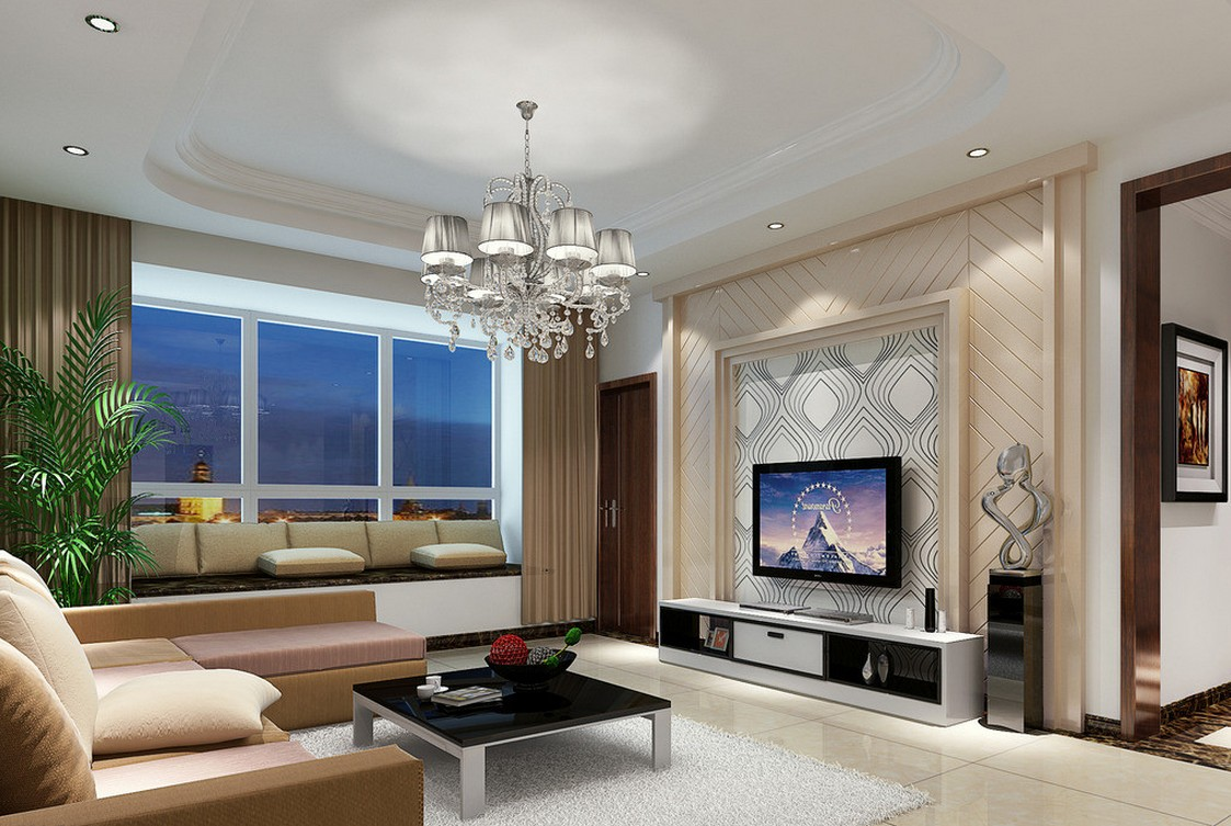 Image of: Living Room Pictures Modern