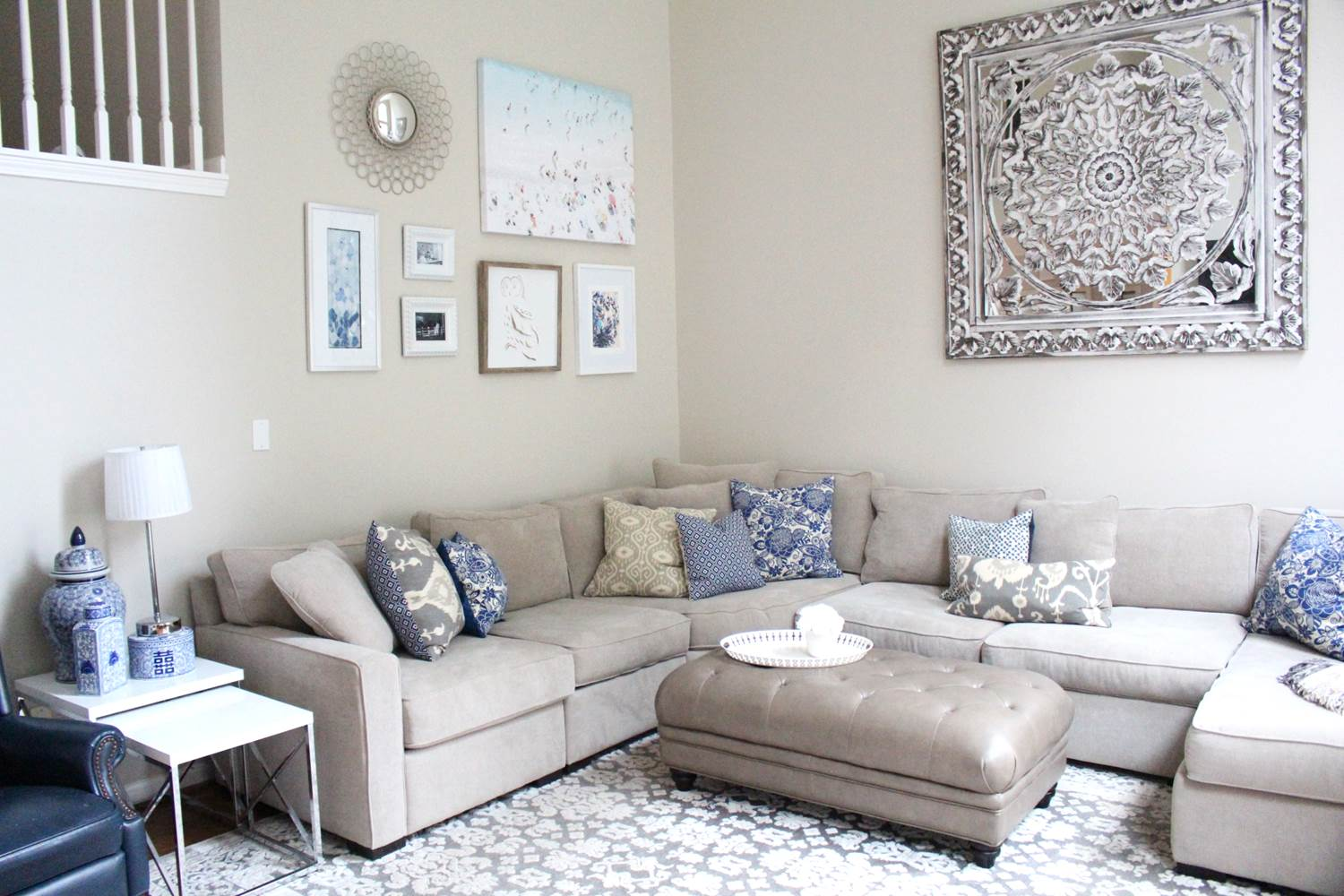 Image of: Living Room Wall Decor Ideas Design