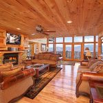 Log Cabin Living Room Luxury