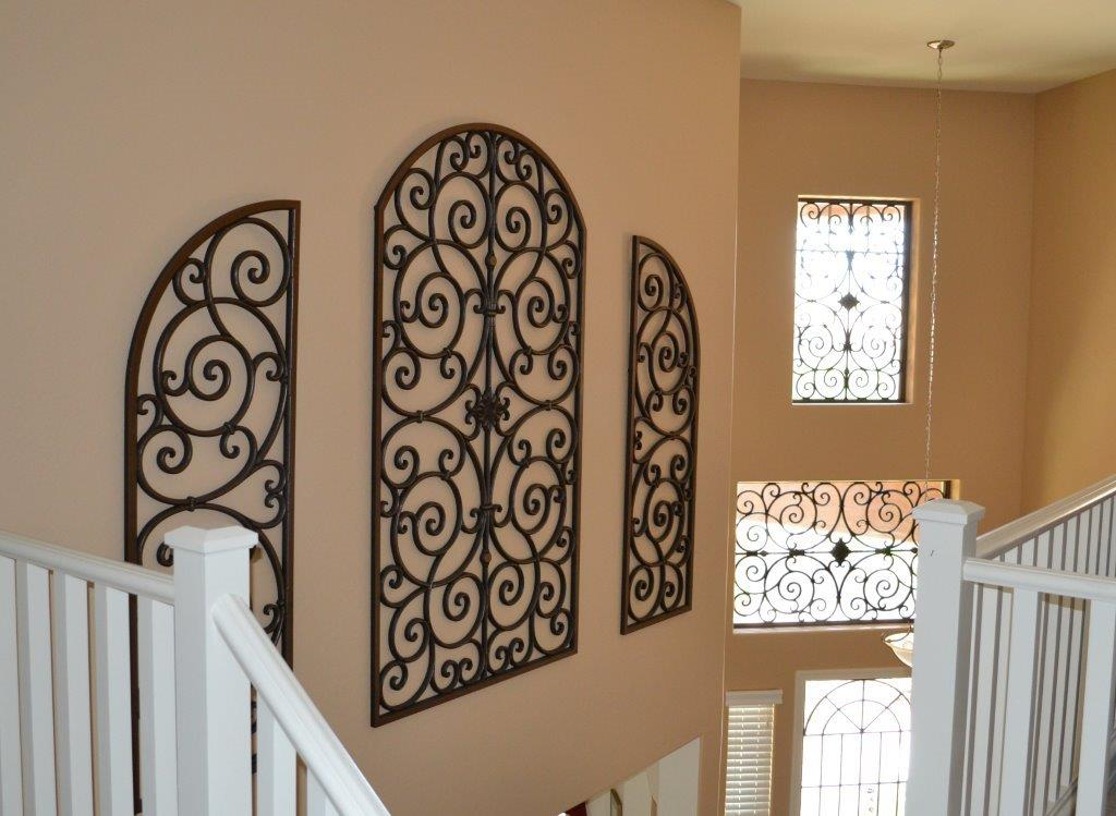 Image of: Metal Wall Art Panels Style