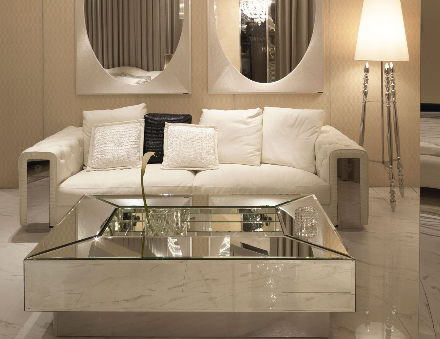 Mirror Tables for Living Room Ideas