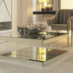 Mirror Tables for Living Room Simple