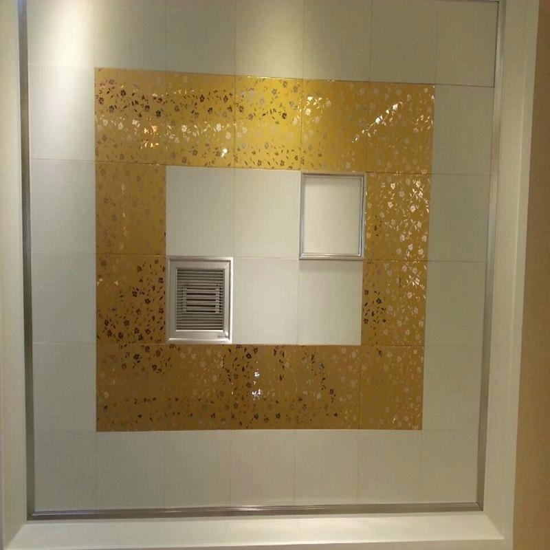 Image of: Mobile Home Wall Panels Gold