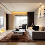 Modern Living Room Curtains Decor