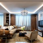 Modern Living Room Curtains Style