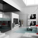 Modern Living Room Decor White